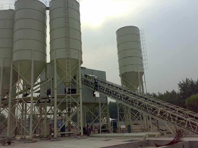 600吨水稳拌合站